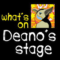 Deano's stage listing